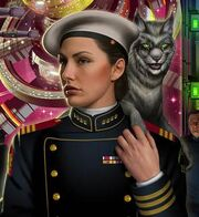 David Mattingly's reworked Honor Harrington for the OBS Cover
