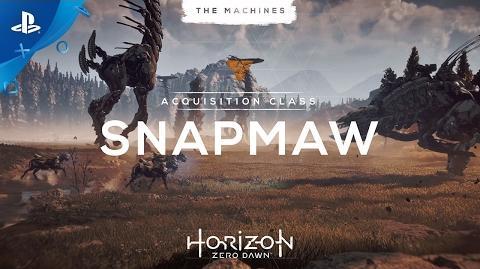 Horizon Zero Dawn - The Machines Snapmaw PS4