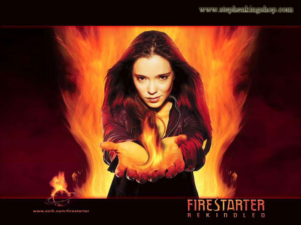 character analysis of fire starter by stephen king Stephen king the great stephen king reread the great stephen king reread:  with a main character based on his ten-year-old daughter, naomi, king was fascinated first by pyrokinesis and then by .