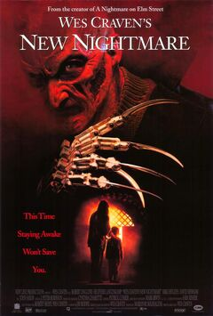 New Nightmare VHS poster