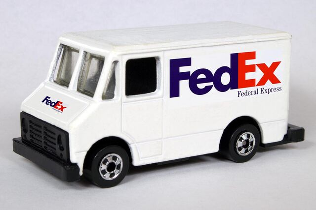 File:FedEx Delivery Truck.jpg