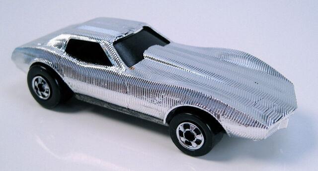 File:Corvette stingray gleam team silver bw.JPG