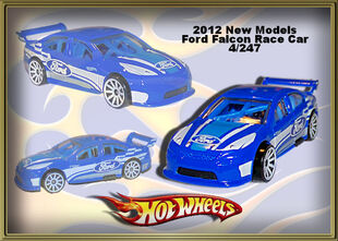 2012 New Models Ford Falcon Race Car