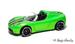 Tesla roadster green 2011