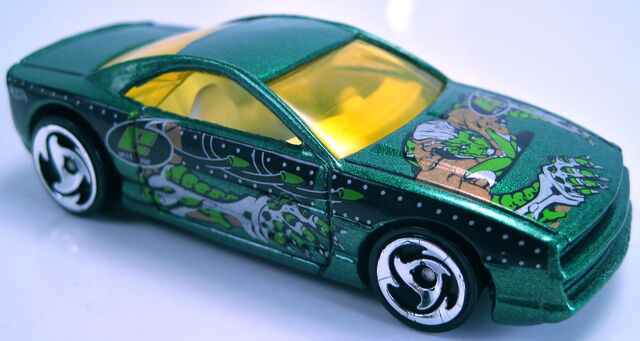 File:Muscletone green metallic, anime series 2001.JPG