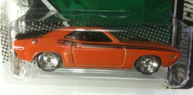 File:830px-2011 Hot Wheels Garage MOPAR Hal Jordan 1971 Dodge Challenger Green Lantern Card.jpg