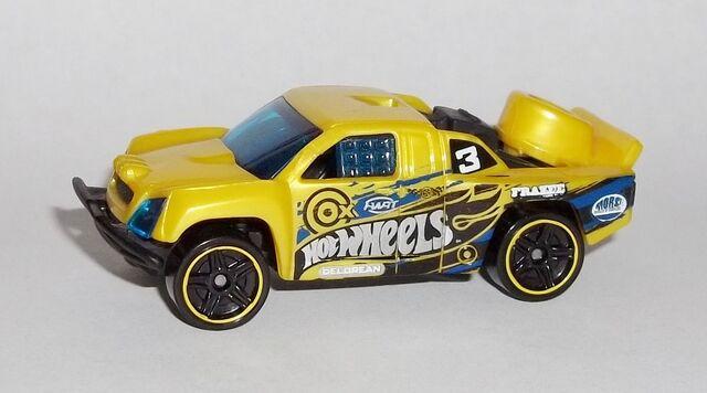 File:HW-Trackin' Trucks Bonus Car-Off Track-Yellow.jpg