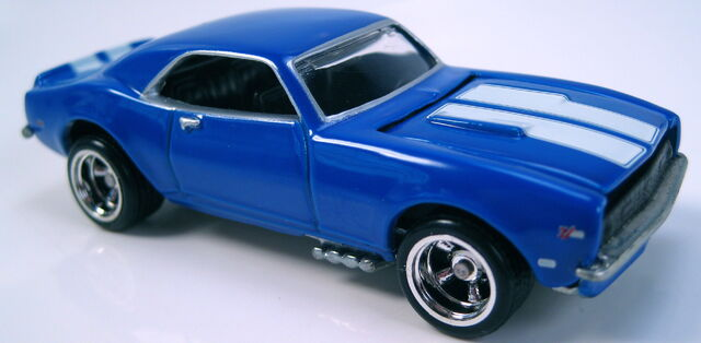 File:68 Camaro blue enamel Popular Hot Rodding Series Preferred line 2002.JPG