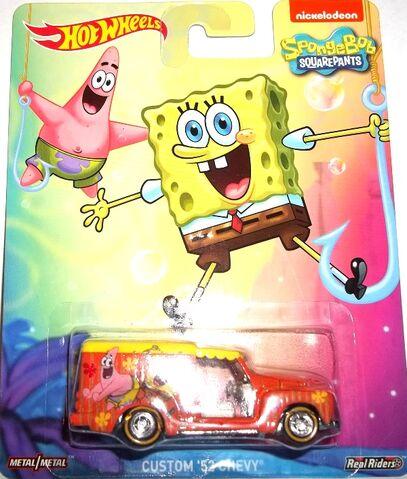 File:HW-SpongeBob SquarePants-Custom '52 Chevy..jpg