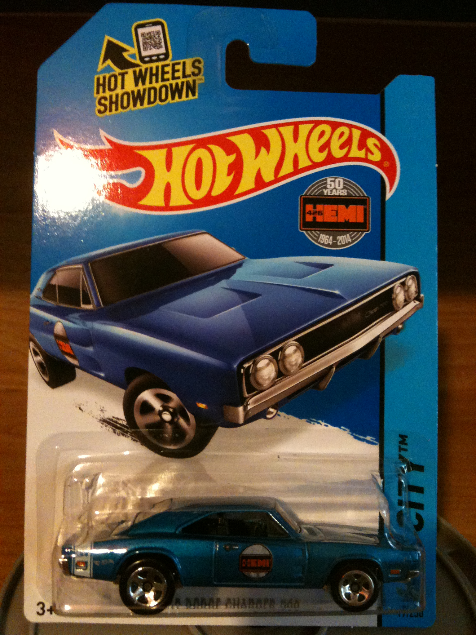 '69 Dodge Charger 500 - Hot Wheels