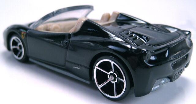 File:Ferrari 456 Spider black rear view.JPG