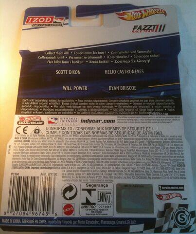File:IZOD 2011 Hot Wheels ALEX Tagliani Full Card BACK.jpg