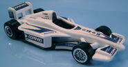 McDonalds F1 car BMW white Compaq