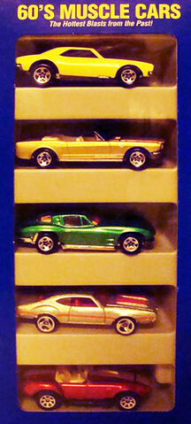 File:60's Muscle Cars 5 Pack.jpg