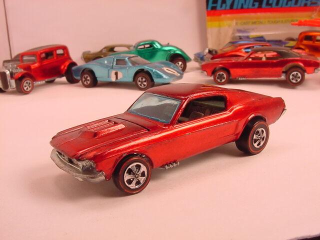File:1968 Custom Mustang Red HK Flyin Colors.jpg