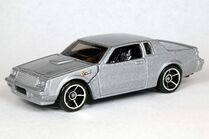Silver Buick Grand National - 6398ef