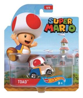Super Mario Character Car Toad package