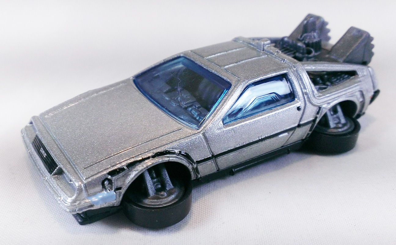 Back To The Future Time Machine Hover Mode Hot Wheels