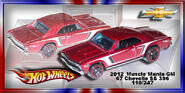 2012 Muscle Mania-GM 67 Chevelle SS 396