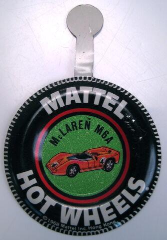 File:Collector button McClaren M6A HK.JPG
