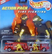 Hot Wheels Fire Fighting Action Pack