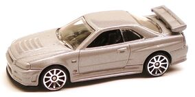 NissanGTRR34 Gray