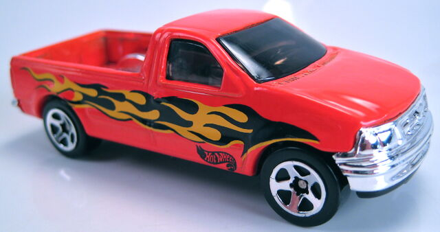 File:'97 Ford F150 orange wreck n roll set car 2001.JPG