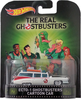 Ecto-1 Ghostbusters Cartoon Car package front