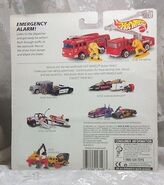Hot Wheels Fire Fighting Action Pack Back Side
