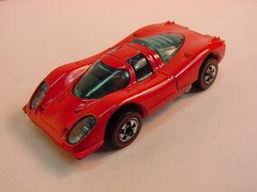 1973 Porsche 917 Red