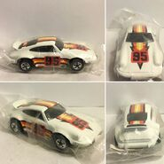 Hotwheels Porsche P-911 (- 95) Ziplock Promo (Variation NOT ivory gloss color, Bright white)