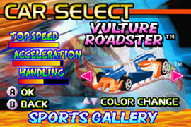 Hot Wheels - Burnin' Rubber Vulture Roadster