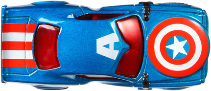 File:BDM73 Hot Wheels Marvel Character Cars - Captain America HW Marvel Cars Captain America XXX 2.jpg