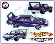 2012 Muscle Mania-Mopar 70 Plymouth Superbird 88-247
