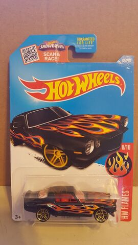 File:Black W/Flames 70 Camaro.jpg