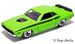 71 dodge challenger lime green