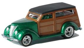 2006 Ultra Hots Series 2nd Wave 37 Ford Woodie