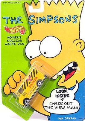 1990 the simpsons homers waste van
