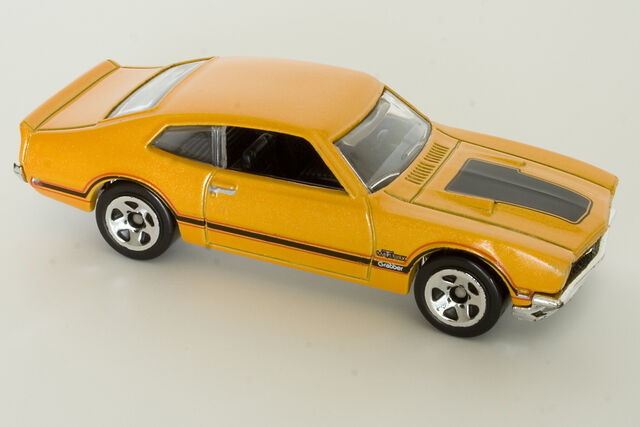 File:2010 '71 Maverick Grabber Yellow Orange.JPG