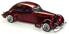 1936 Cord Red