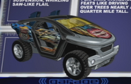 18 Moto-Crossed (Road Beasts)
