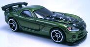 08 Dodge Viper SRT10 ACR green Holiday Hot Rods 2011