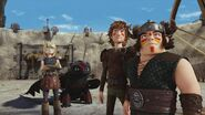 Astrid, Hiccup and Snotlout Dawn of the Dragon Racers