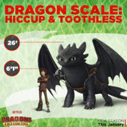 Dragon Scale Hiccup and Toothless