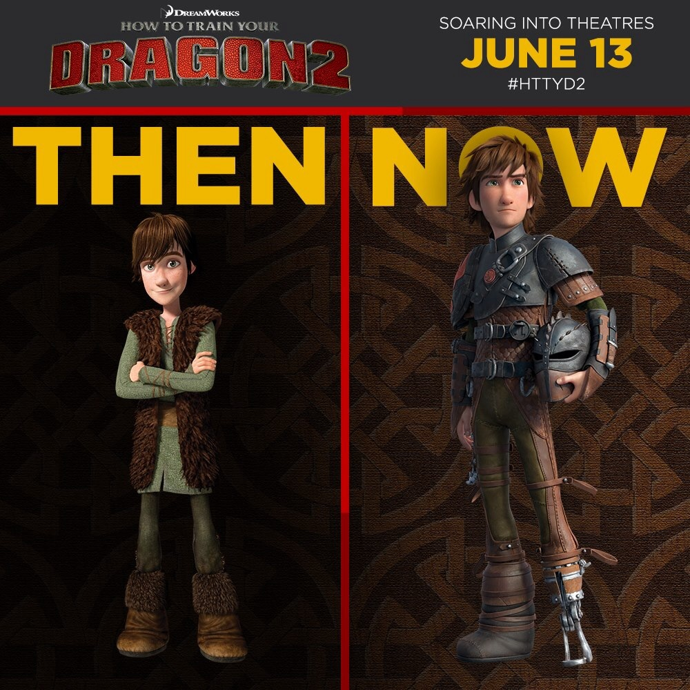 Image  Then And Now: Hiccupg  How To Train Your Dragon Wiki  Fandom  Powered By Wikia