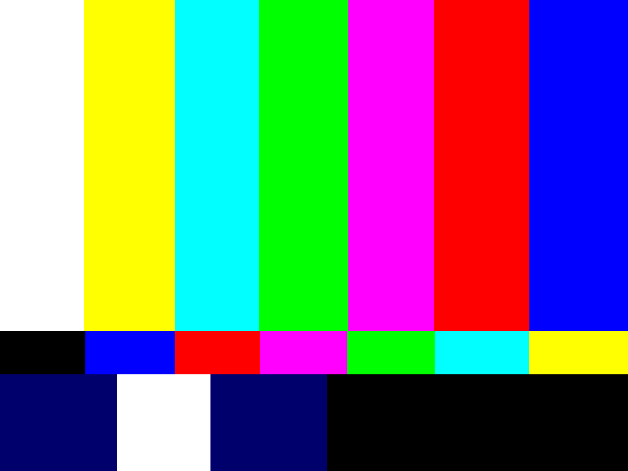 Image Video Color Test Pattern Jpg Htm Wiki Fandom Color Test Page