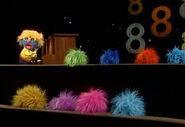 8 balls of fur
