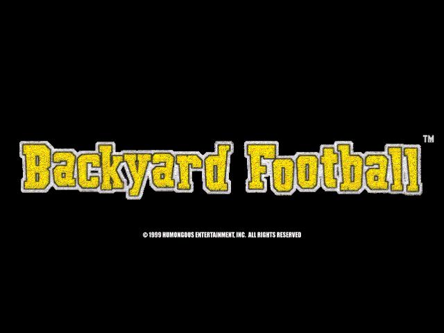 Backyard Football   Humongous Entertainment Games Wiki ...