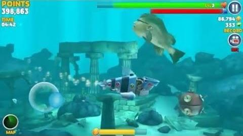 Kempy bass hungry shark wiki fandom powered by wikia for Fish evolution game
