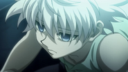A pale Killua